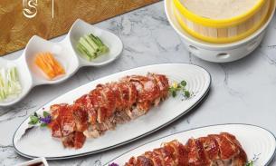 本周桉意烤鸭团购:9.29-10.3👍墨尔本最好的烤鸭之一,一鸭三吃(可选汤或椒盐鸭架)